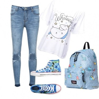 Outfit All\'università sognante