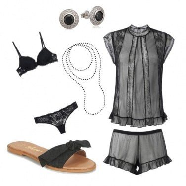 Outfit Chic anche a letto