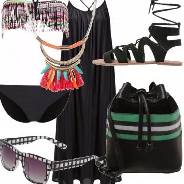 Outfit Al mare dark