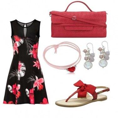Outfit Il sandalo con il fiocco