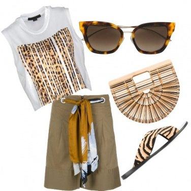 Outfit Safari in città