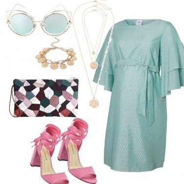 Outfit Tofly_premaman green