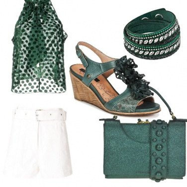Outfit Green summer
