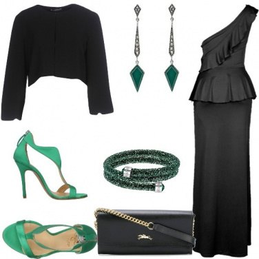 Outfit Dettagli green