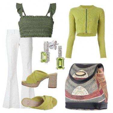 Outfit Sandalo e top