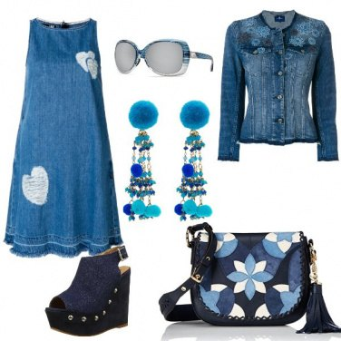 Outfit Blue denim