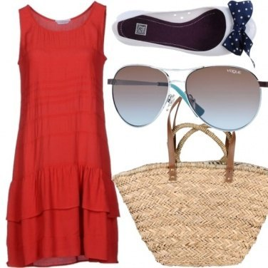 Outfit Summer Red