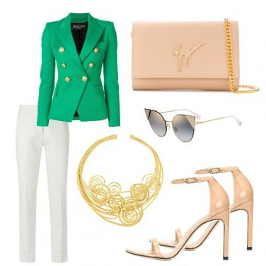 Outfit Giacca... wow green!