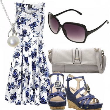 Outfit Rose in blu