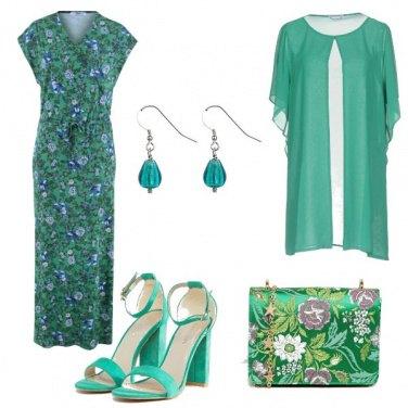 Outfit La borsa con i fiori