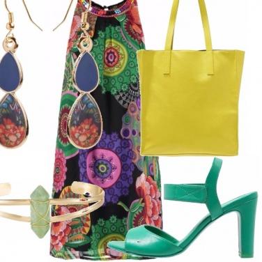 Outfit Bella e colorata