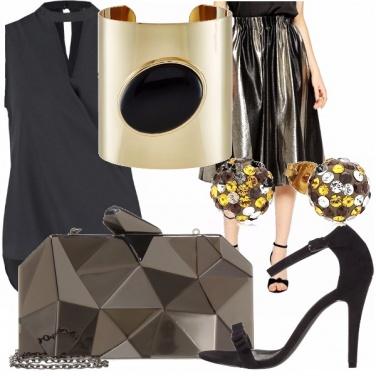 Outfit La borsa che ti porta a festa