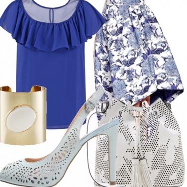 Outfit Traforo di fiori