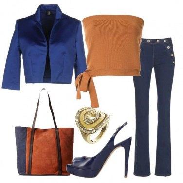 Outfit Top crop in maglia e tacco 12
