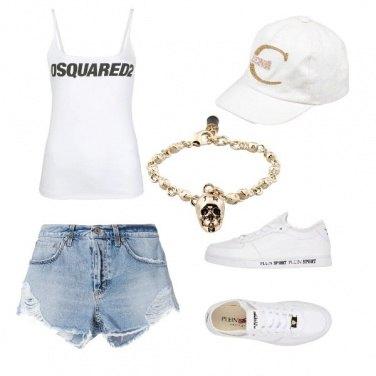 Outfit Sportivo con stile