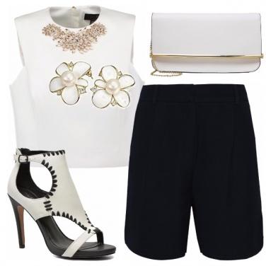 Outfit Elegante in bermuda