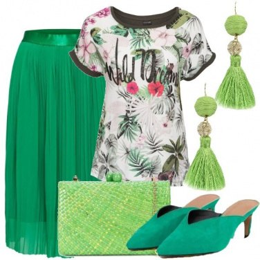 Outfit Tanto verde
