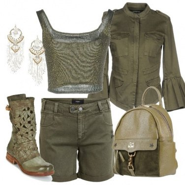 Outfit Total green parte 2