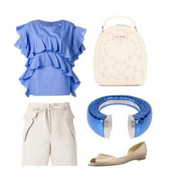 Outfit Bracciale blu