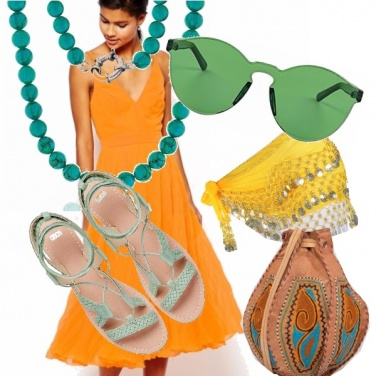 Outfit I colori del brasile
