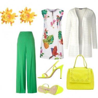 Outfit Serata a colori