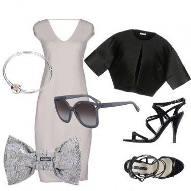 Outfit Cerimonia argentea