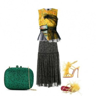Outfit Love Yellow