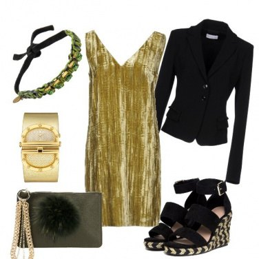 Outfit Eco green night