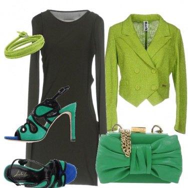 Outfit 50 sfumature di verde