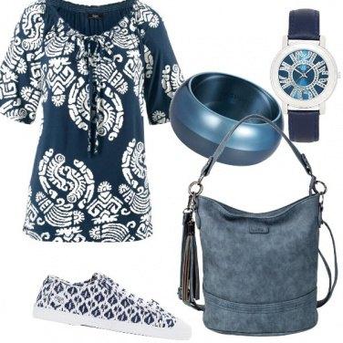Outfit Tutta blu