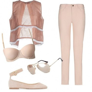 Outfit Rosa baby ma non troppo