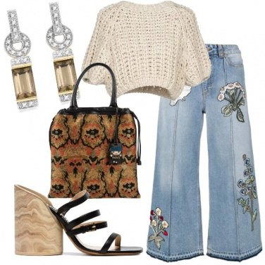 Outfit Il top handmade style
