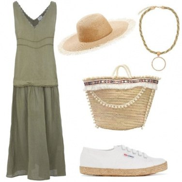 Outfit Shopping sotto il sole