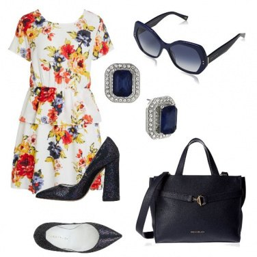 Outfit Blue accessories