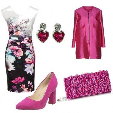 Outfit Fucsia fashion