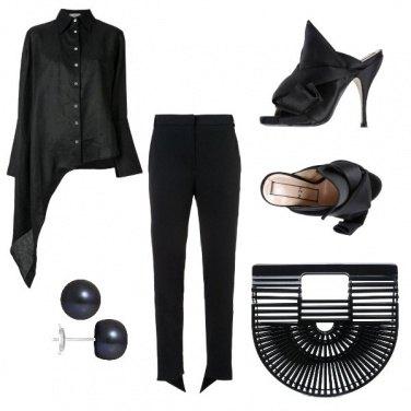 Outfit Gli orecchini neri