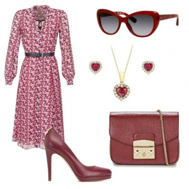 Outfit Chemisier a fiori