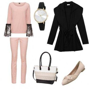 Outfit All\' università con stile :)