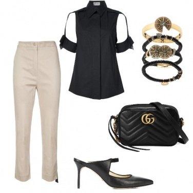 Outfit La camicia nera