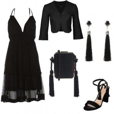 Outfit Total black estivo