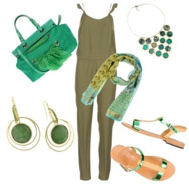 Outfit HalloGreen