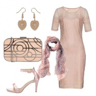 Outfit Serata rosa