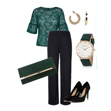 Outfit Green night