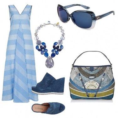 Outfit Blue per ogni occasione
