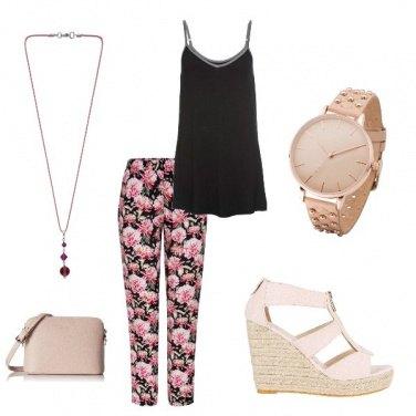 Outfit Comoda e romantica
