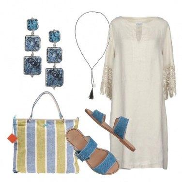 Outfit Il vestito in lino comodo