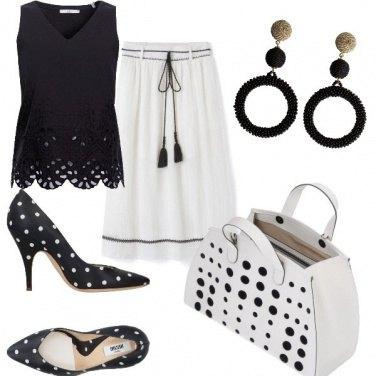 Outfit Un outfit a pois
