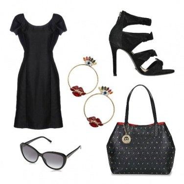 Outfit Il nero dona