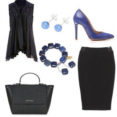 Outfit Accessori blu