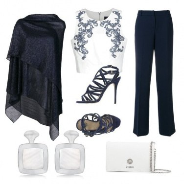 Outfit CMPS Crop top for curves